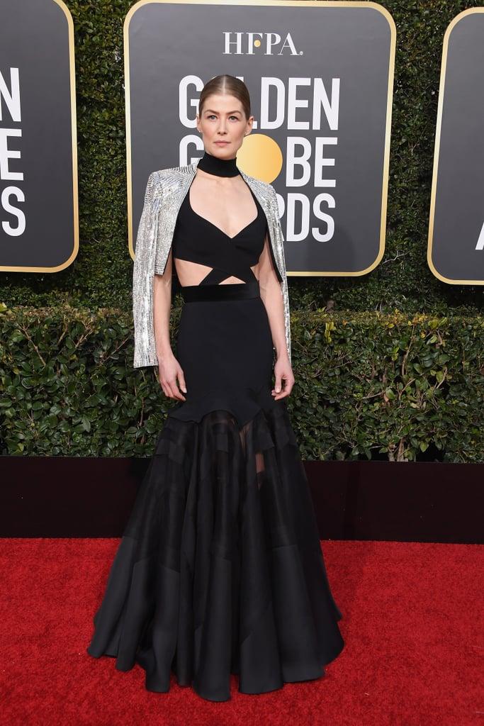Globo de Ouro 2019 Rosamund Pike