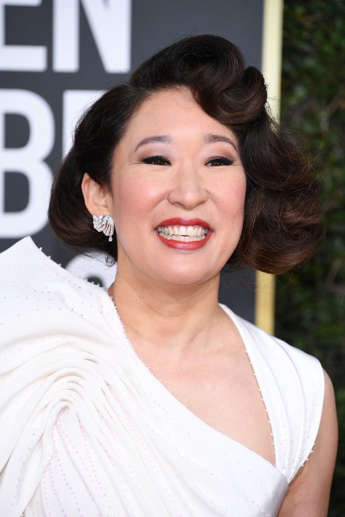 Globo de Ouro 2019 Sandra Oh Joias