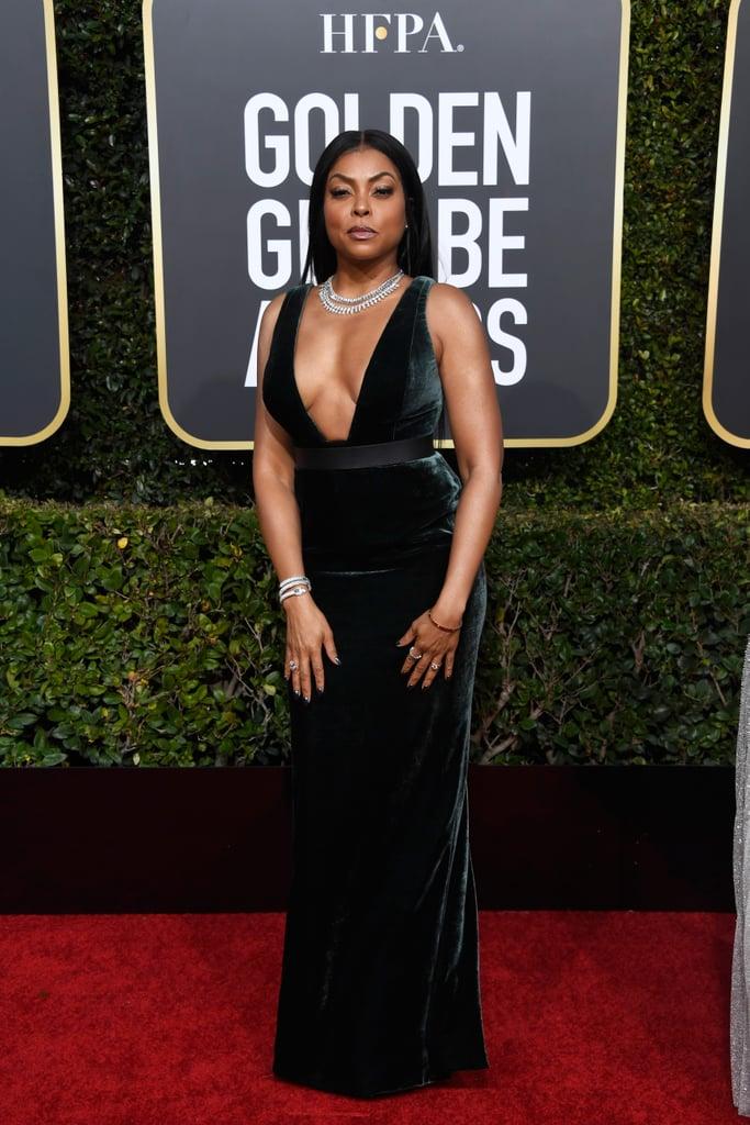 Globo de Ouro 2019 Taraji P Henson look