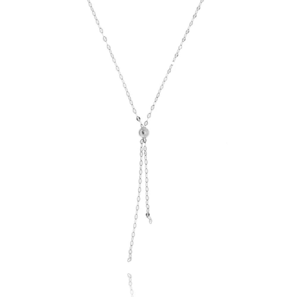 colar de prata delicado