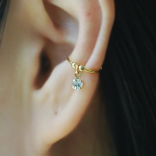 conch piercing argola ouro