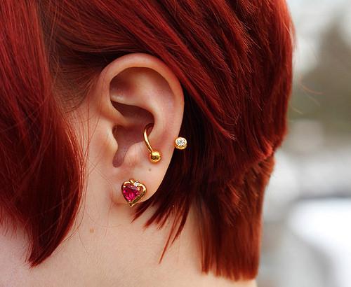 conch piercing diferente