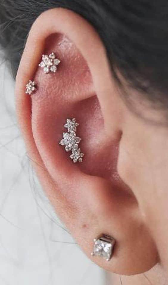 conch piercing florzinha