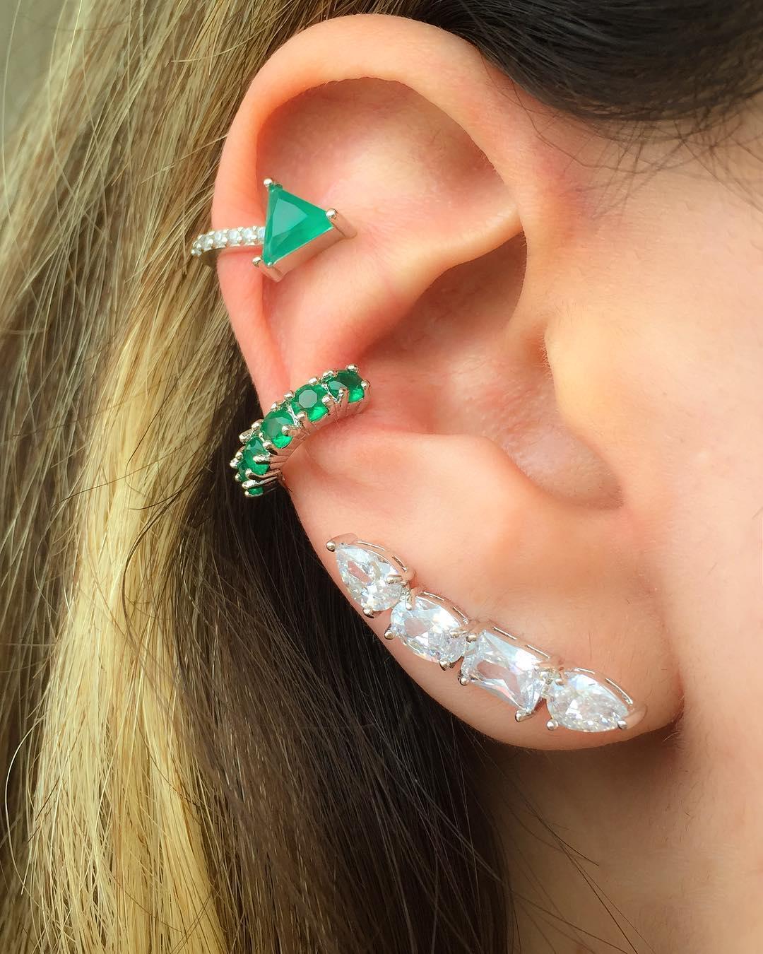 piercing conch ear cuff