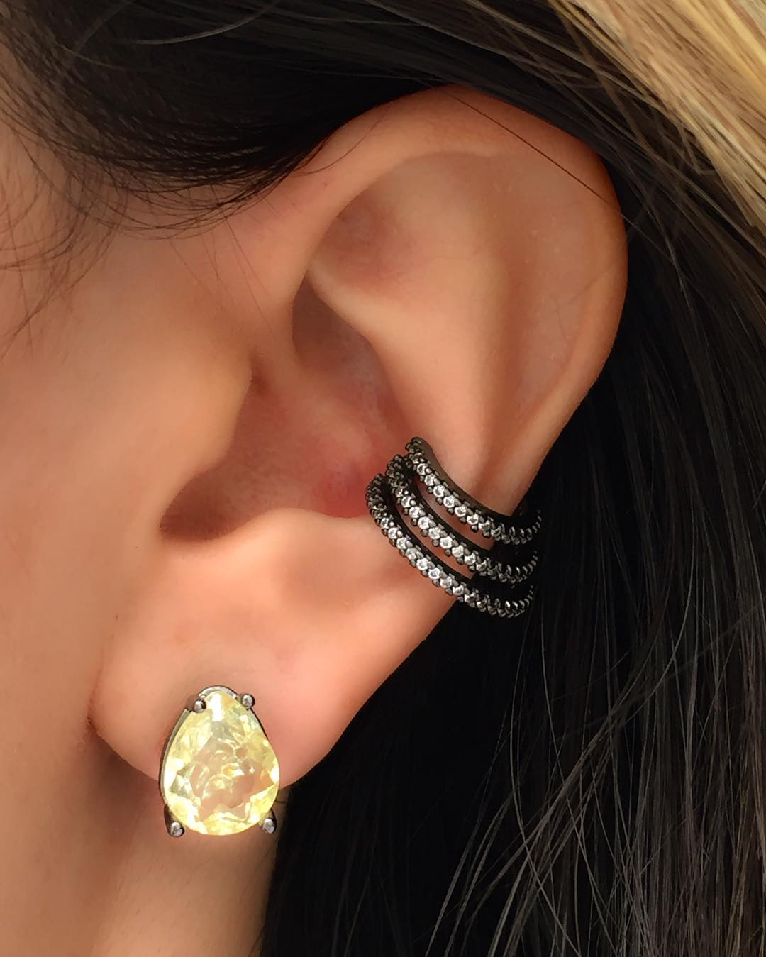 piercing conch triplo