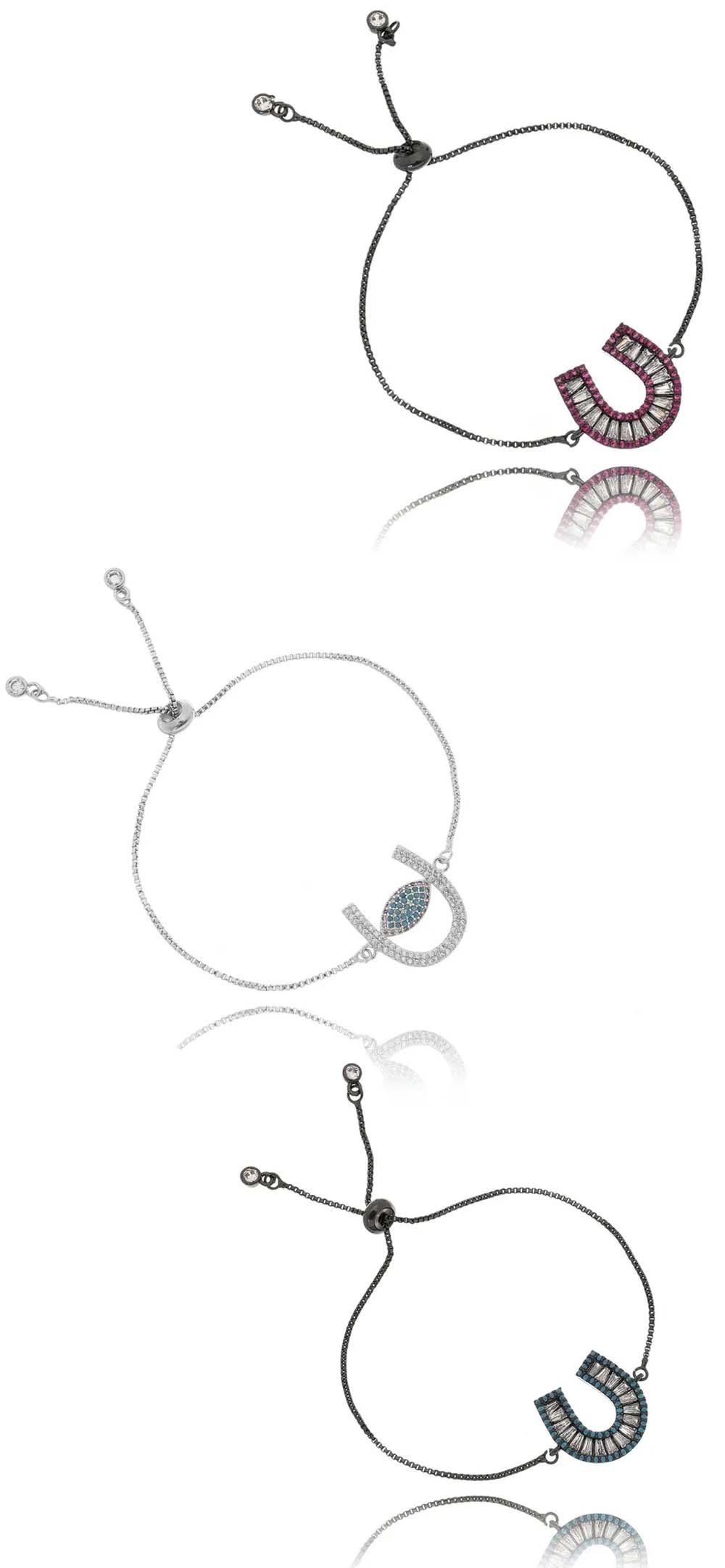 pulseiras da sorte ferradura