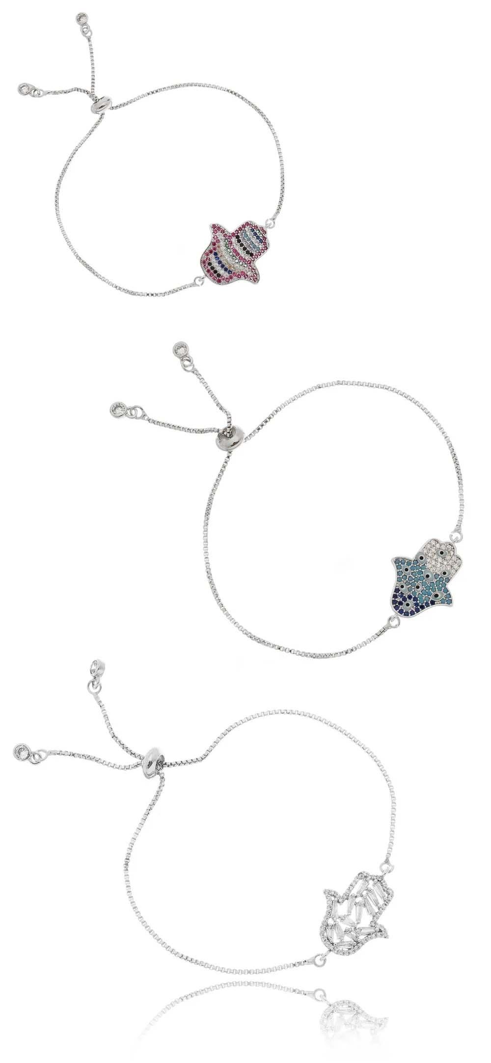 pulseiras da sorte hamsa