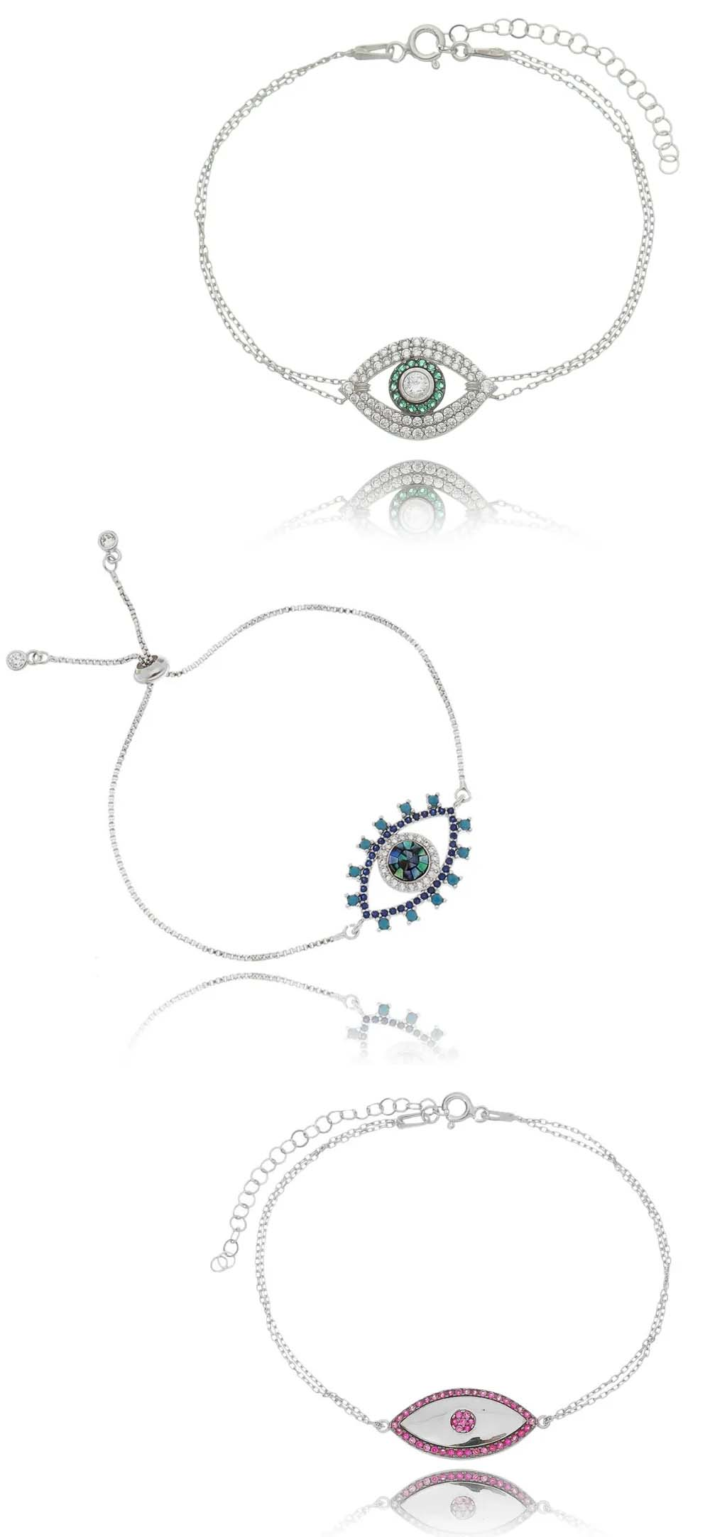 pulseiras da sorte olho grego