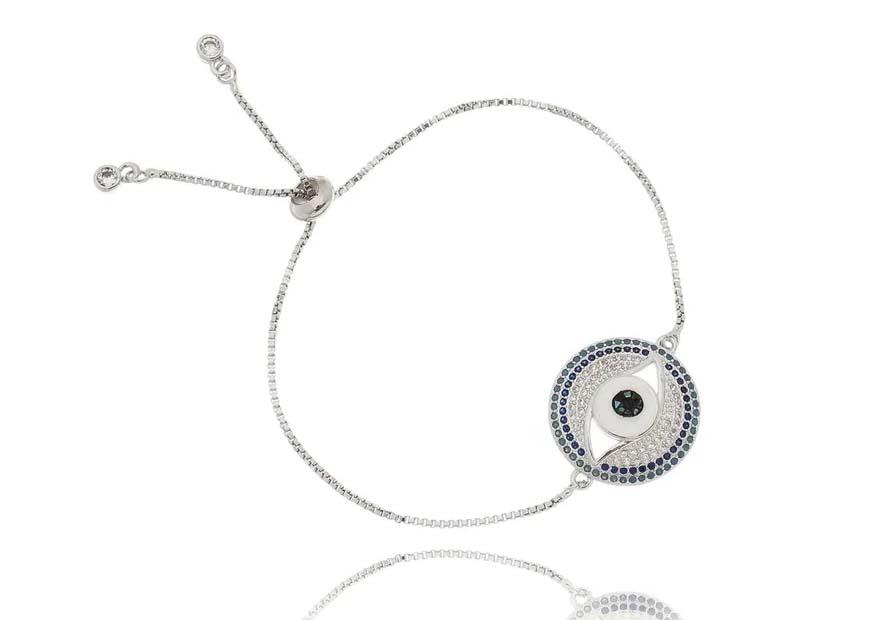 pulseiras em promocao olho grego