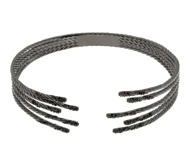 pulseiras em promocao preta