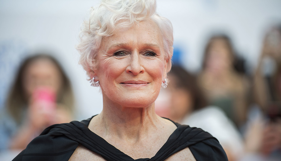 32 divas com mais de 60 glenn close
