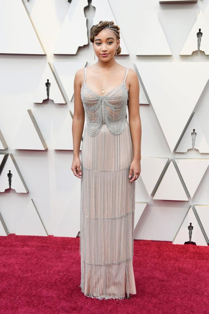 Amandla Stenberg Looks do Oscar 2019
