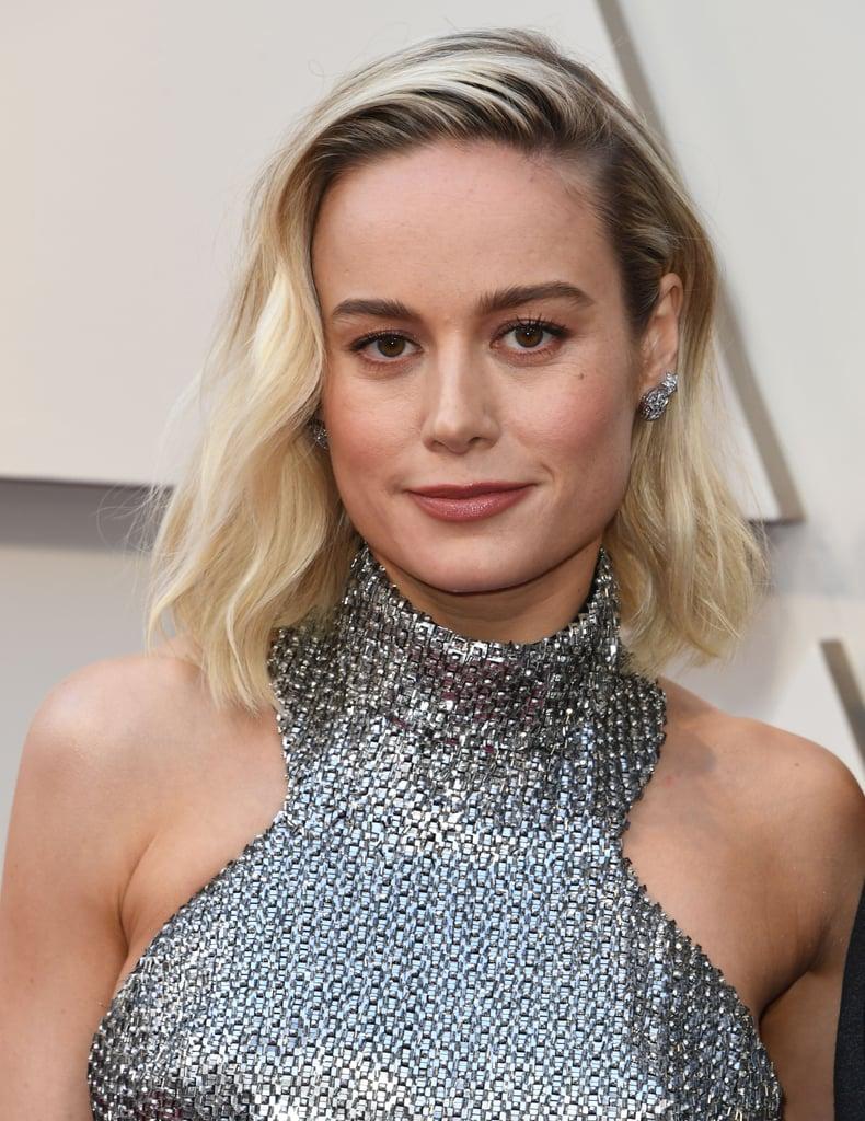Brie Larson Looks do Oscar 2019 Brincos