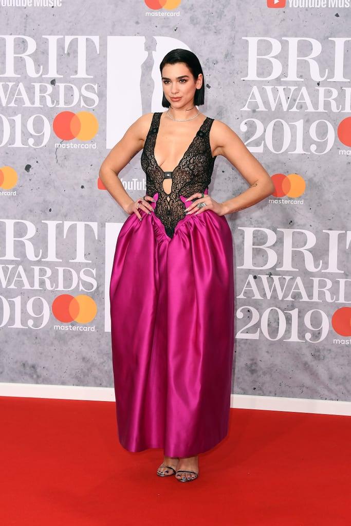 Brit Awards 2019 Dua Lipa