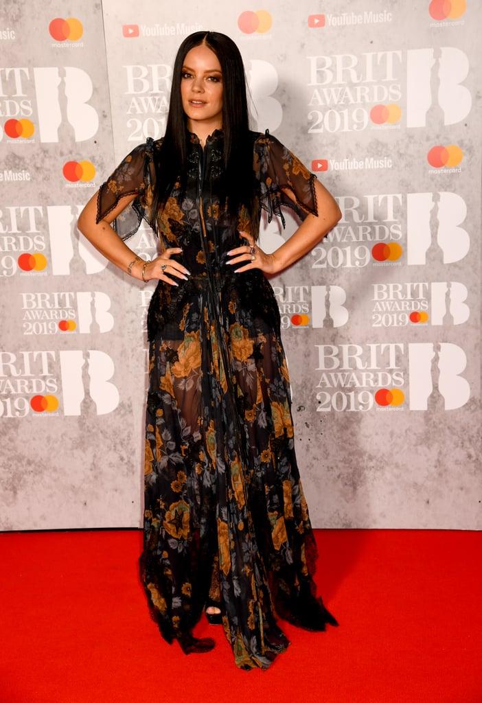 Brit Awards 2019 Lily Allen