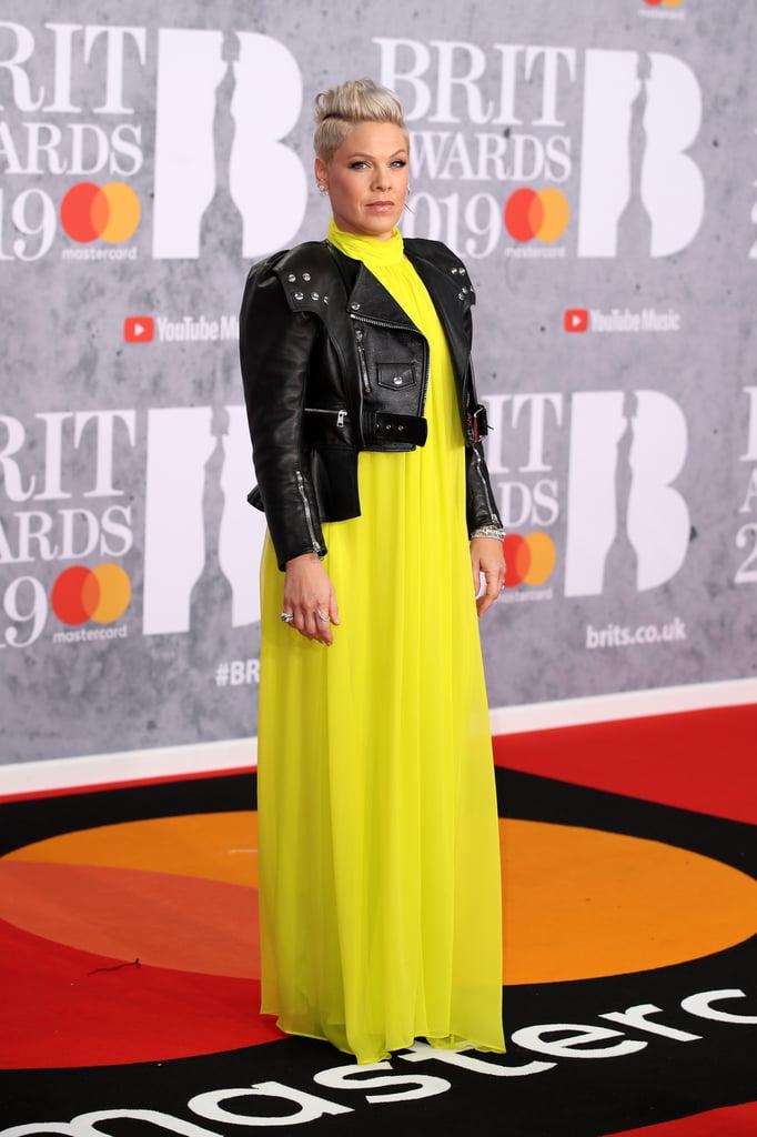 Brit Awards 2019 Pink