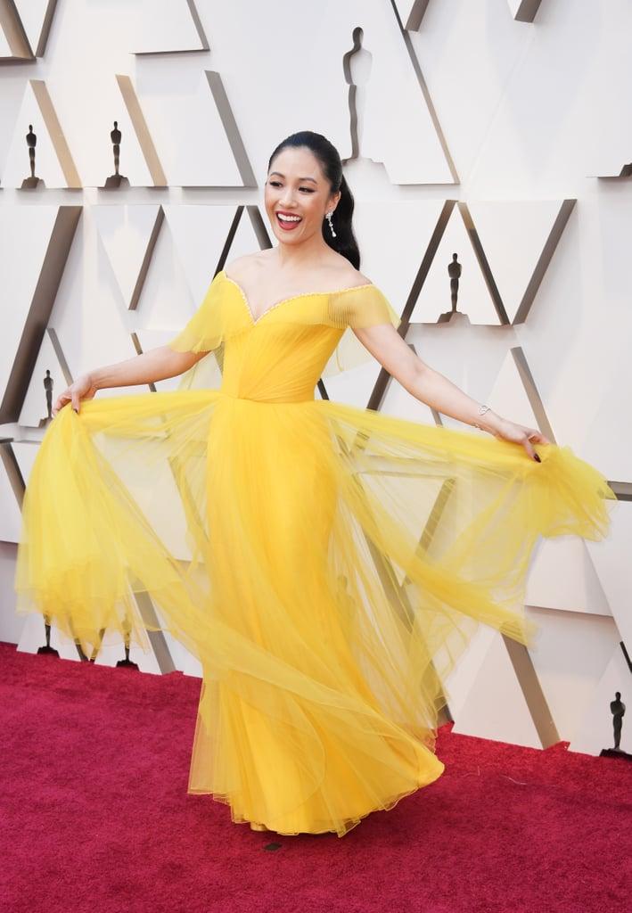 Constance Wu Looks do Oscar 2019