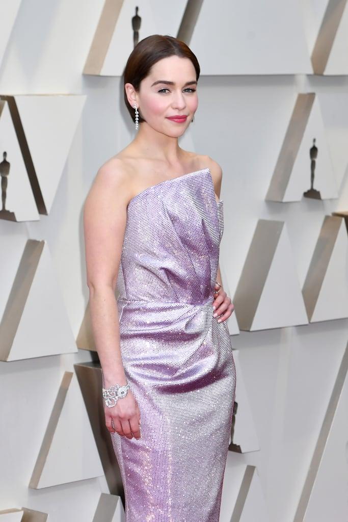 Emilia Clarke Looks do Oscar 2019 Joias