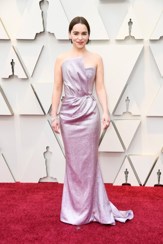 Emilia Clarke Looks do Oscar 2019