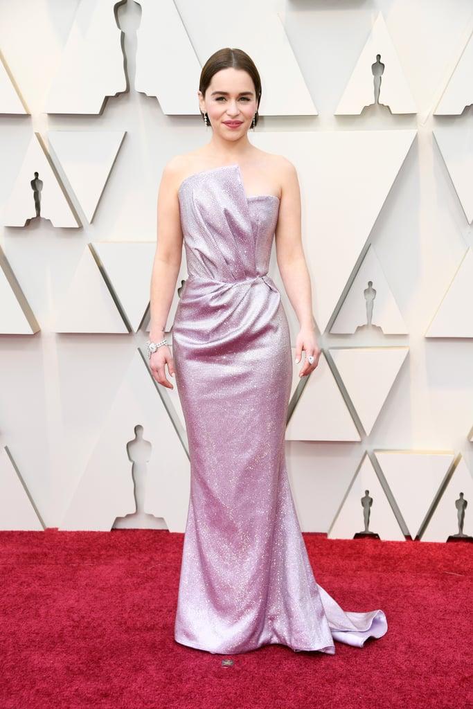 Emilia Clarke Looks do Oscar 2019