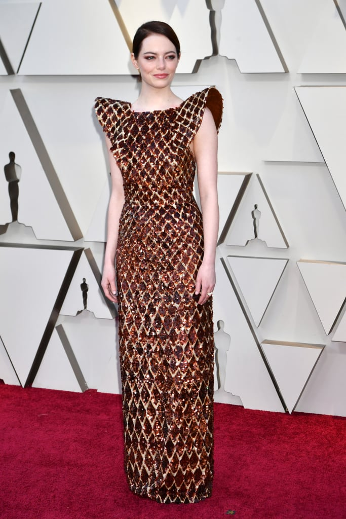 Emma Stone Looks do Oscar 2019 Vestido
