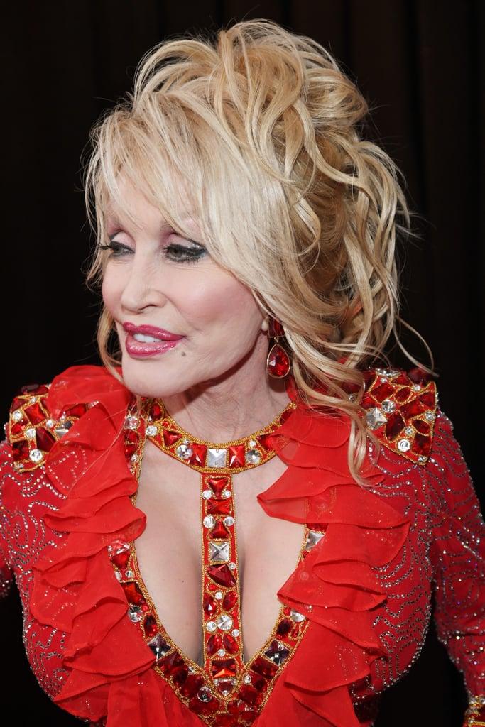 Famosas no grammy 2019 Dolly Parton