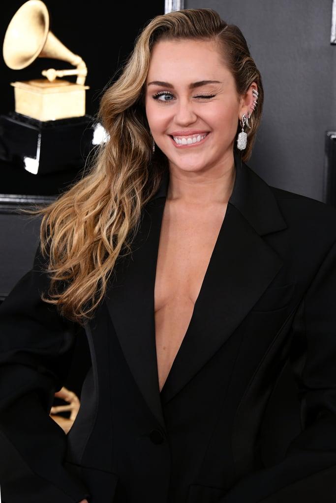 Famosas no grammy 2019 Miley Cyrus
