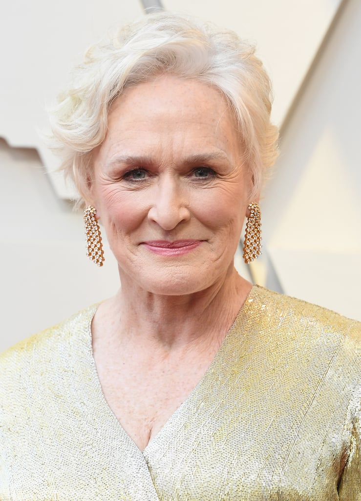 Glenn Close Looks do Oscar 2019 Brincos