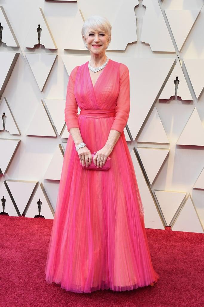 Helen Mirren Looks do Oscar 2019