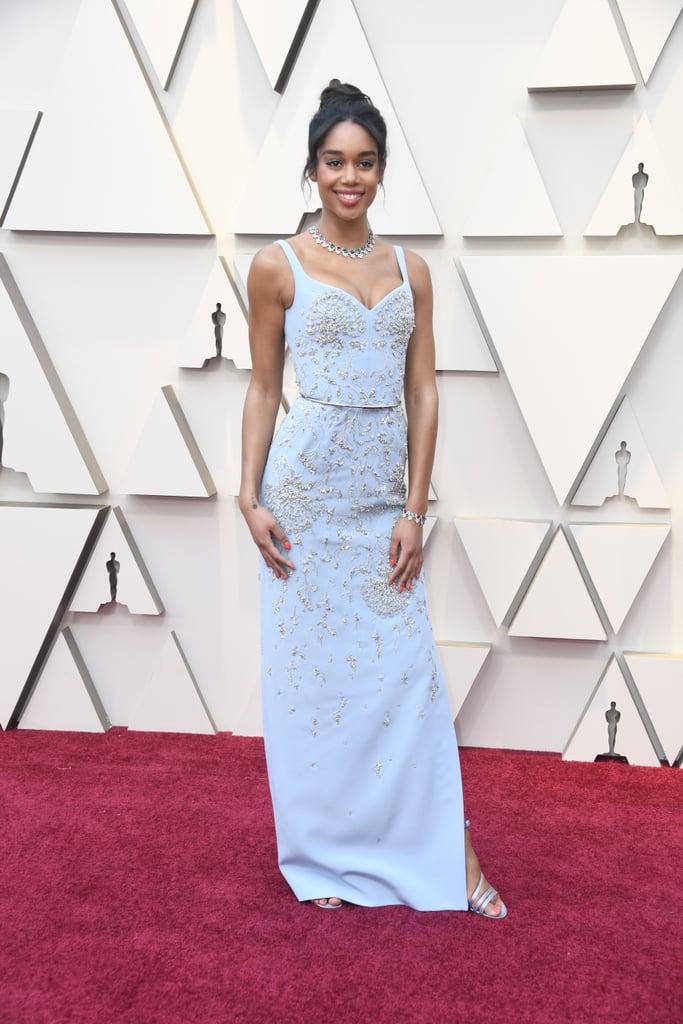 Laura Harrier Looks do Oscar 2019