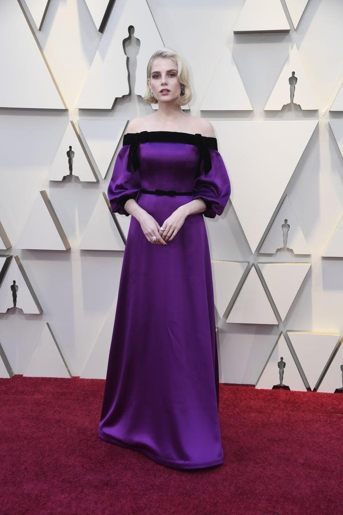 Lucy Boynton Looks do Oscar 2019