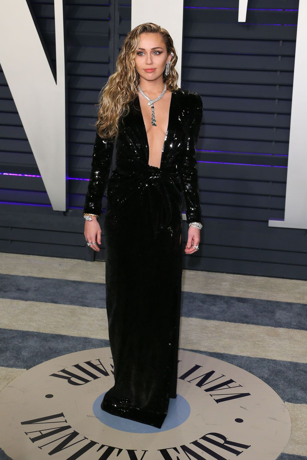 Oscar 2019 afterparty Miley Cyrus