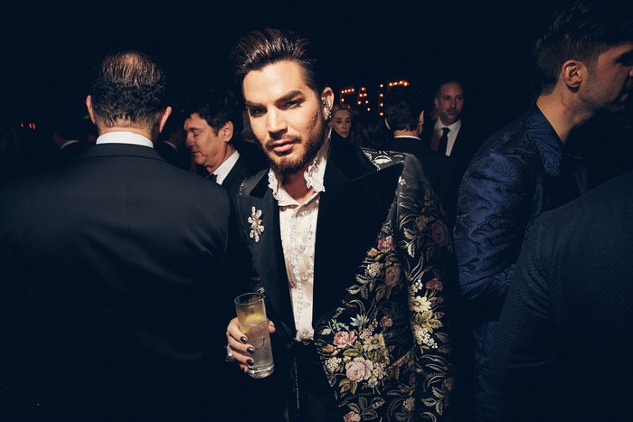 Oscar 2019 afterparty adam lambert