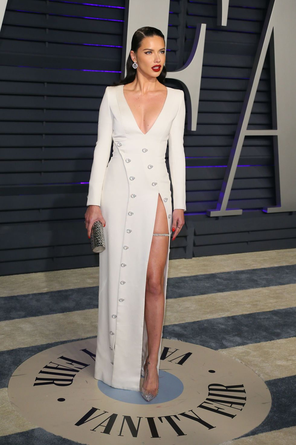 Oscar 2019 afterparty adriana lima look