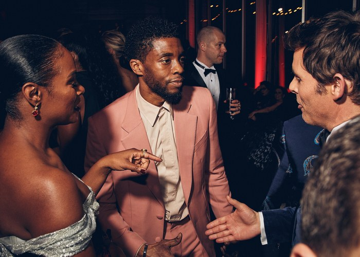 Oscar 2019 afterparty chadwick boseman