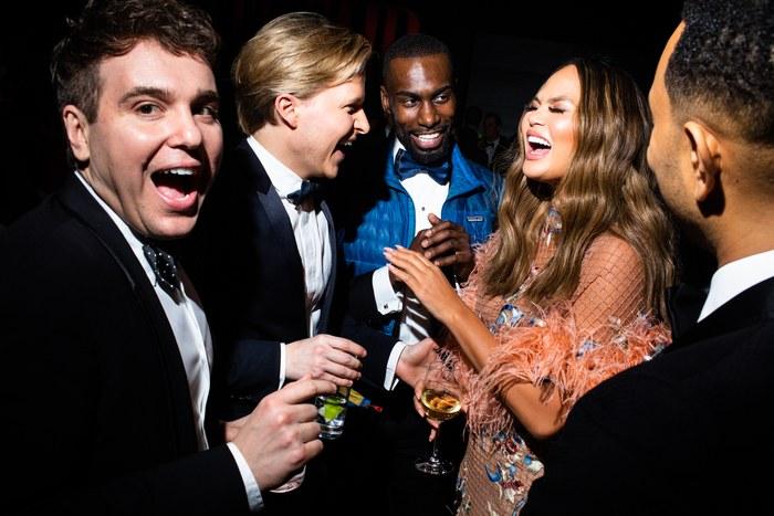 Oscar 2019 afterparty chrissy teigen