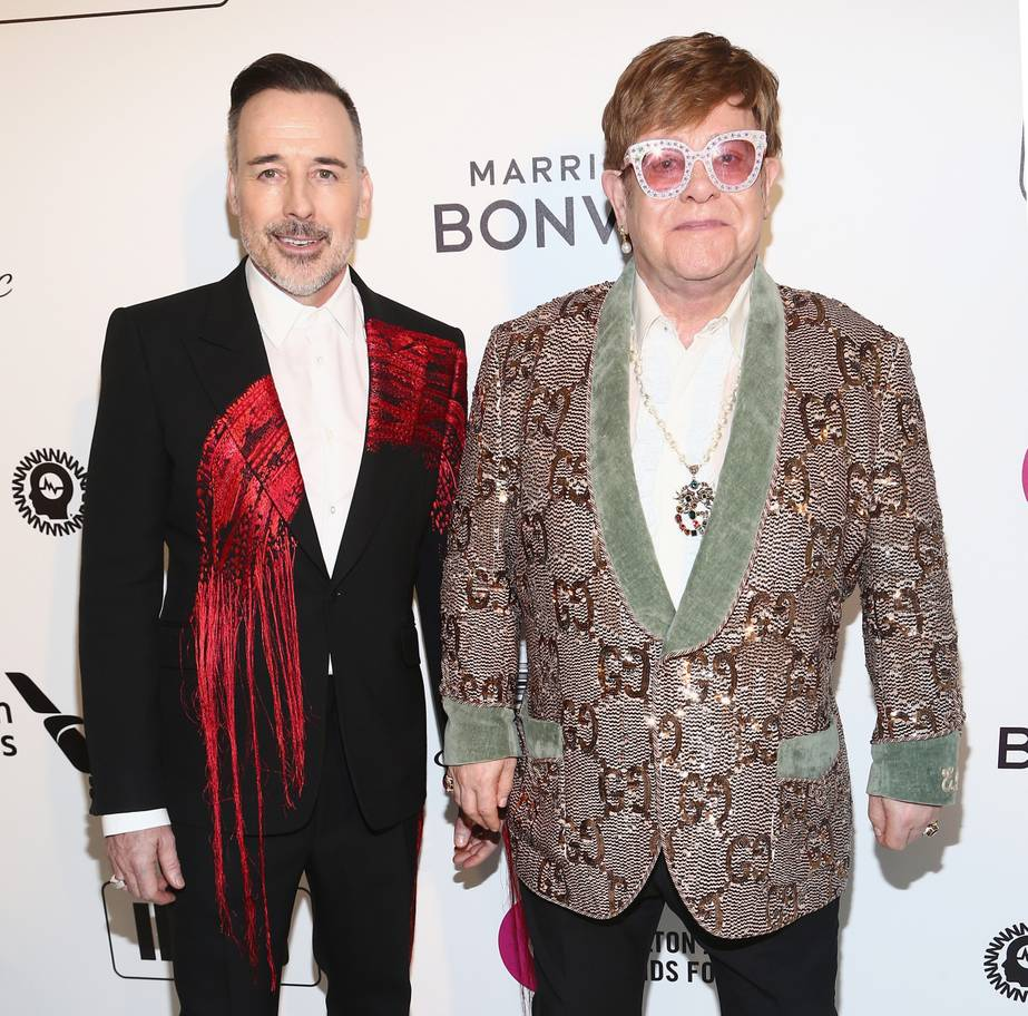 Oscar 2019 afterparty elton john namorado