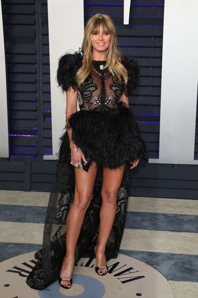 Oscar 2019 afterparty heidi klum look