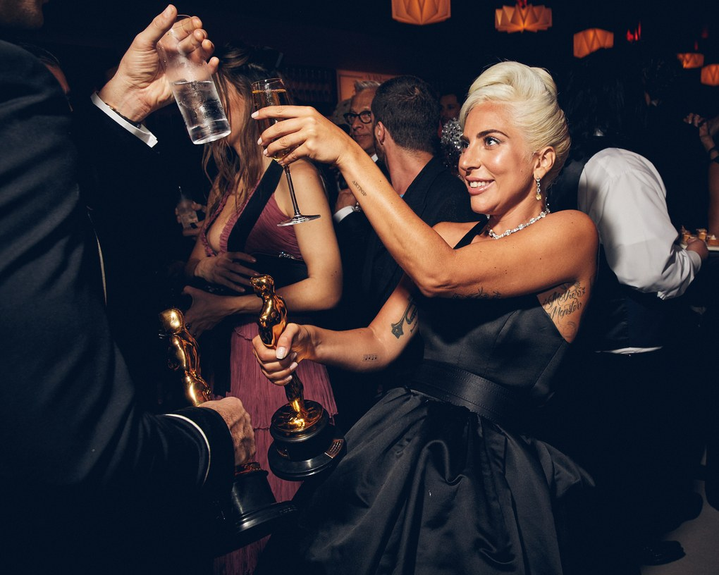 Oscar 2019 afterparty lady gaga vanity fair