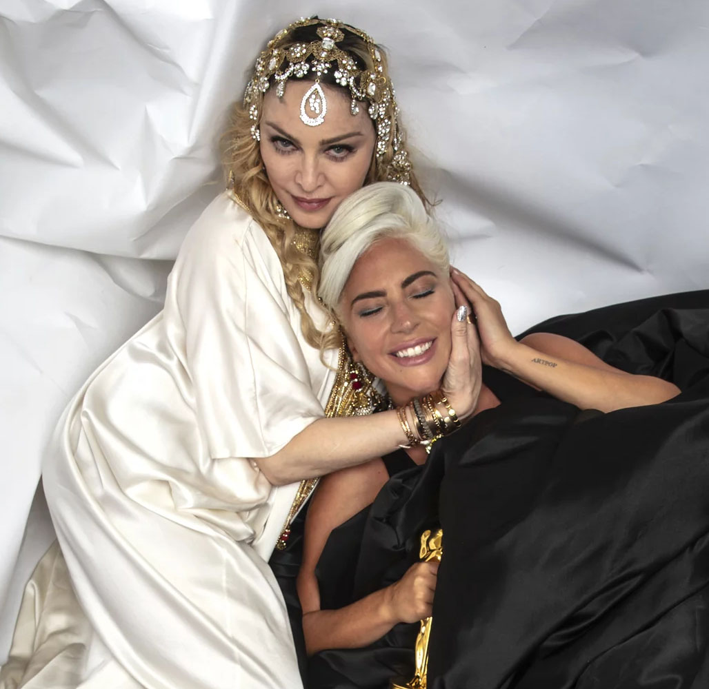 Oscar 2019 afterparty madonna lady gaga