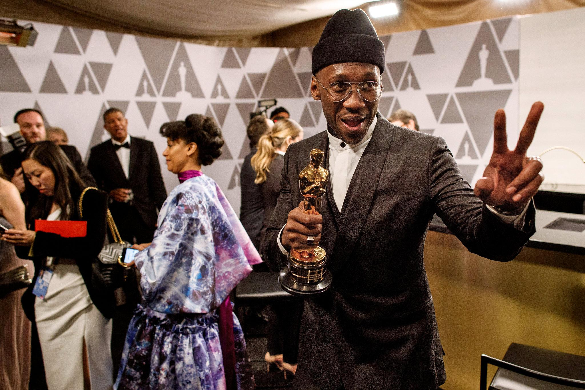 Oscar 2019 afterparty mahershala ali