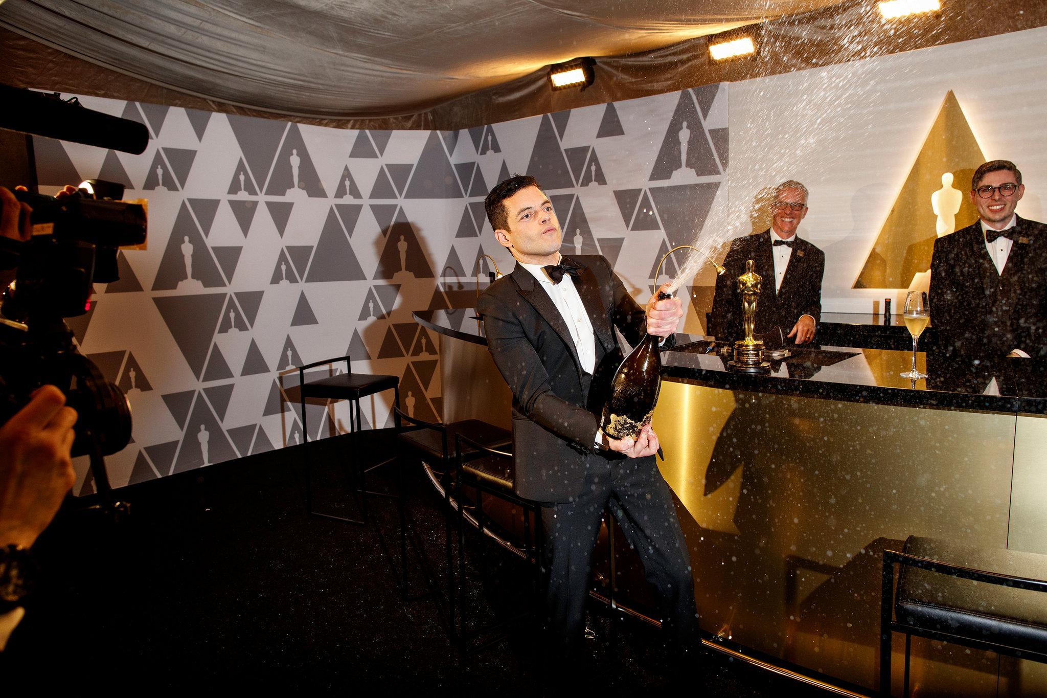 Oscar 2019 afterparty rami malek