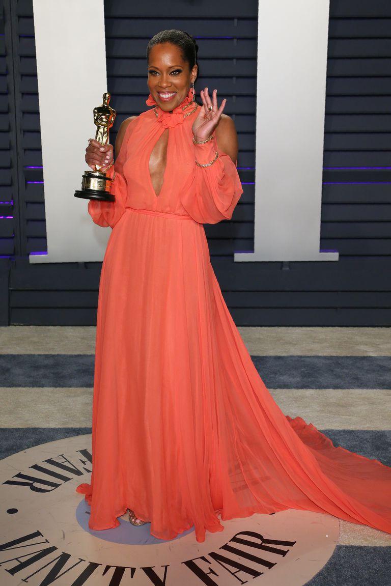 Oscar 2019 afterparty regina king look