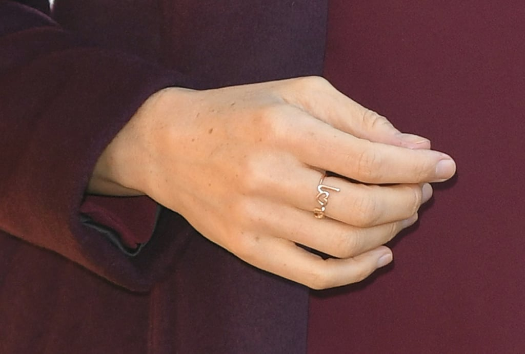 acessorios de meghan markle anel love