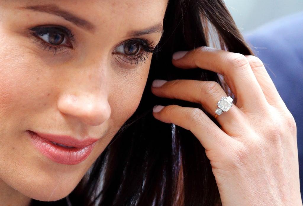 acessorios de meghan markle anel noivado