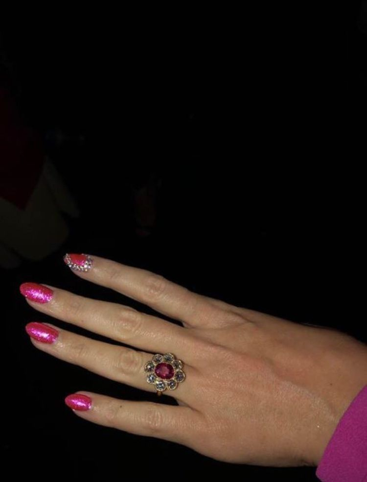 anel de noivado katy perry