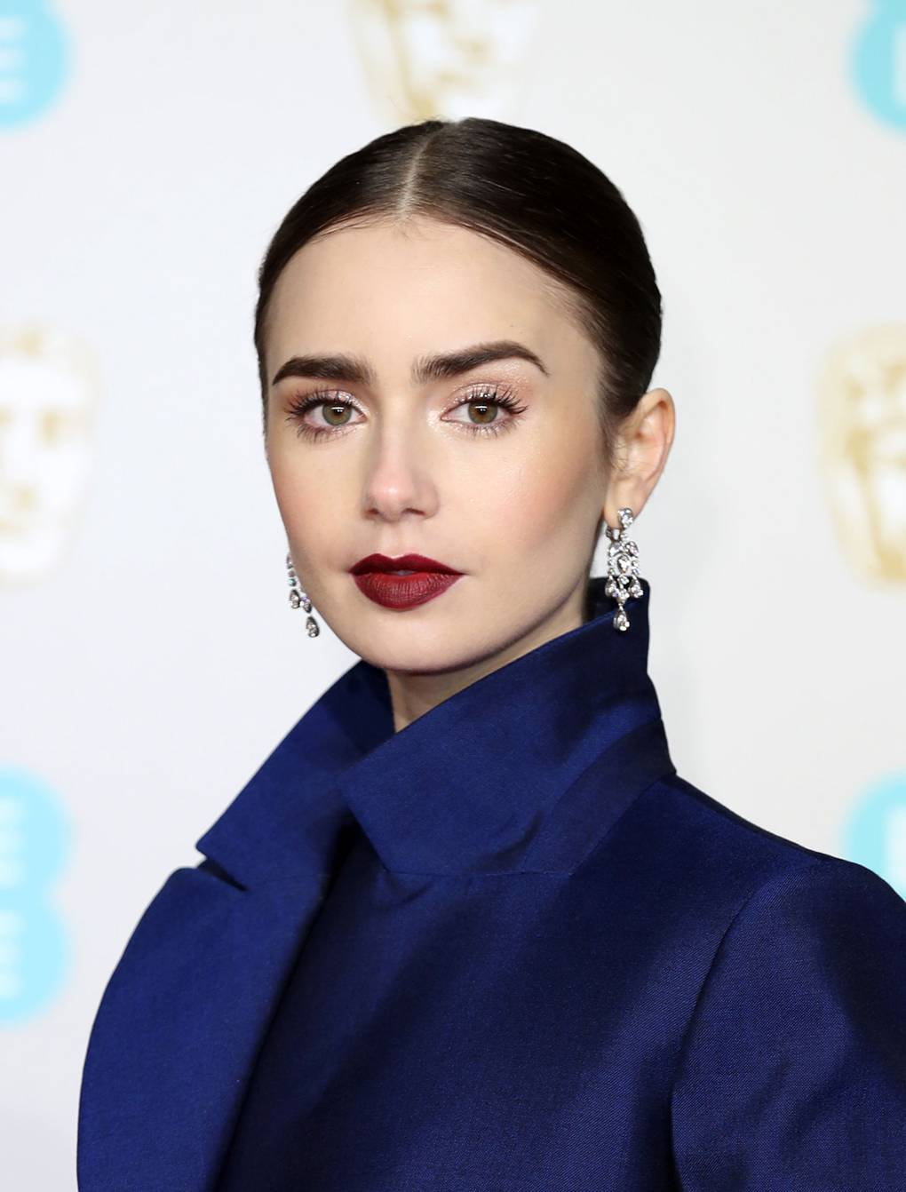 bafta 2019 joias lily collins