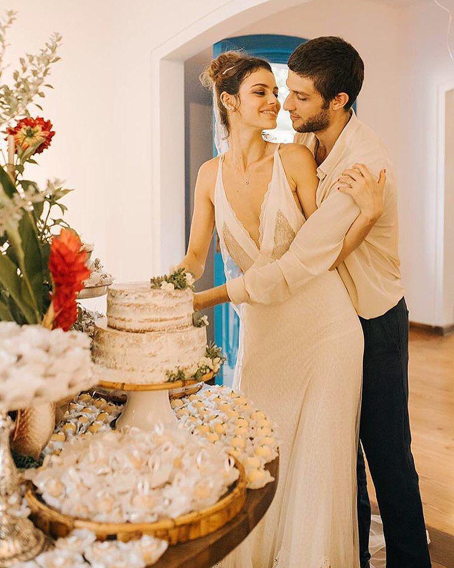 bolo casamento laura e chay