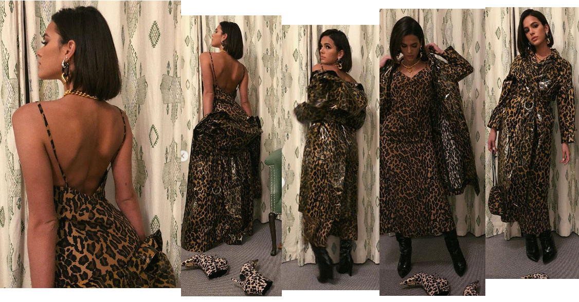 bruna marquezine animal print