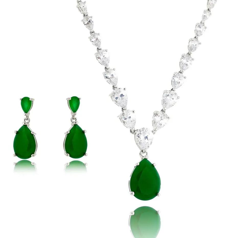 joias da marilia mendonça esmeralda semijoias
